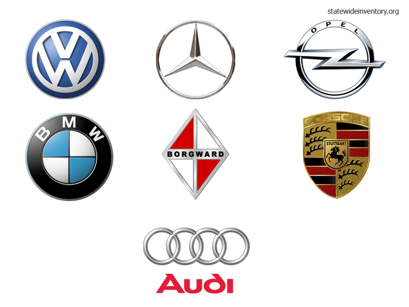German Car Brands Companies And Manufacturers Statewide