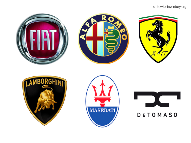 Tri City Auto Sales >> Italian Car Brands, Companies and Manufacturers — Statewide Auto Sales