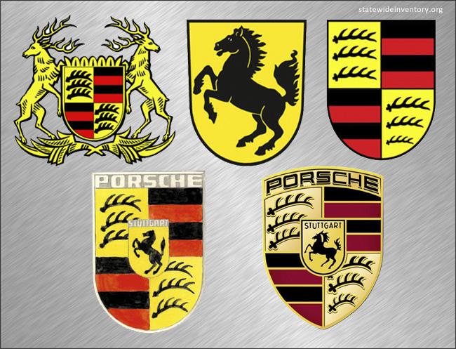 Porsche Logo History